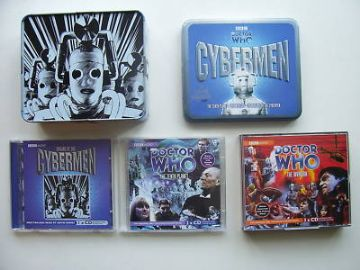 Doctor Who The Cybermen Limited CD Audio Tin Set  RARE